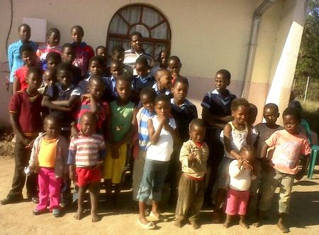 Viele Kinder kommen sonntags auch zum Gottesdienst