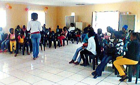 Nachmittagsprogramm mit den Schulkindern